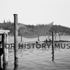 Source:  Frank Shaw<br /> Date:  November 21, 1947<br /> Construction work at Peninsula Yacht Basin at North Gig Harbor.  Lou Grout and Doug Coulter doing work.