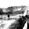 Dr. Rust on Crescent Creek Bridge