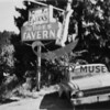 Source:  Peter Stanley<br /> The Tides Tavern sign, (3 Fingered Jack's) foot of Harborview Drive, Gig Harbor