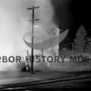 Source:  Frank Shaw<br /> Potlatch Lumber Co. fire: firemen approach fire   8/8/1951