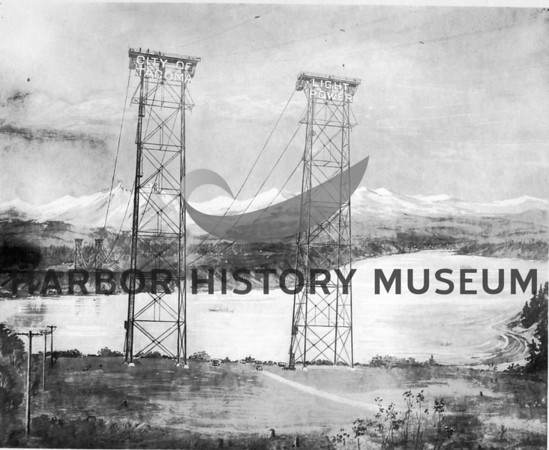 1925 Narrows- Dedication of Cushman Powerplant and Dam