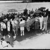 Hales Passage Orthopedic Guild's annual summer barbecue held at the Dick Wingard's.  @1950-1955.  Looking into Shaw's Cove right rear. Arletta  Source: A Ziegler