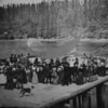 Memorial Day at People's Dock-1890<br /> from a copy print