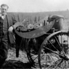 Hammarlund with farming equipment