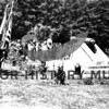 #020<br /> Ceremony at Fort Lewis, WWI