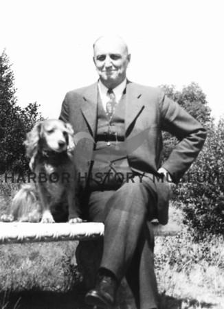 "Dr. Monzingo and ""Jack""  1940"
