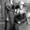 Source:  Unknown     <br /> Date:  1919     <br /> Mary Standich (standing) and Lena Standich.