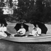 Young ladies rowing; Cromwell Lutheran Church.