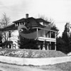 A.R.Hunt Mansion built 1909; restored by Joe Hoots Construction Co. <br /> wider shot than E-63.1  3/11/1949