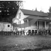 Mystic A. Peacock home - former residence of F.S. Drummond Place-<br /> front view 1/19/1948