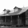 Carl Stebbins home in Rosedale.<br /> Photo taken 1900.