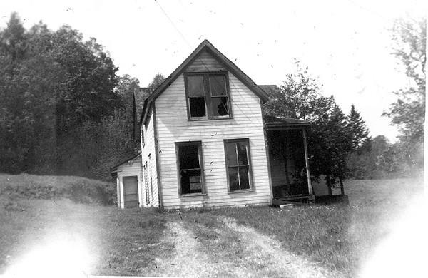 Whitmore house above Sylvia Lake - taken in 1963.