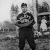 Baseball player, Arletta Reds.
