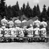 Gig Harbor Baseball team-back with business sponsers   7/25/1948