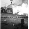 Johnson's Garage fire 1945, NGH.