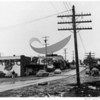 Keith Uddenberg's first Thriftway on Harborview Dr.;<br /> original Gig Harbor Mill site; presently Harbor Landing <br /> Gig Harbor-c.1949