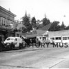 Photographer:  Raymond Bacon<br /> Main Street, Harborview/Pioneer; Gig Harbor-August 1, 1941<br /> Lee Thrash's Drug Store