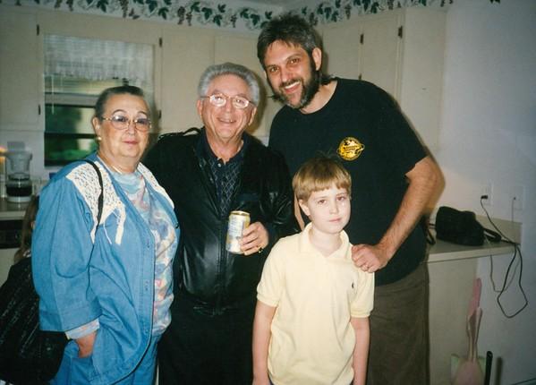 Sylene, Len, Bill and Jez