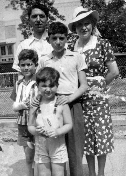 Granowsky family, 1930s