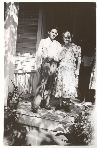 Len and Bubbe Granowsky