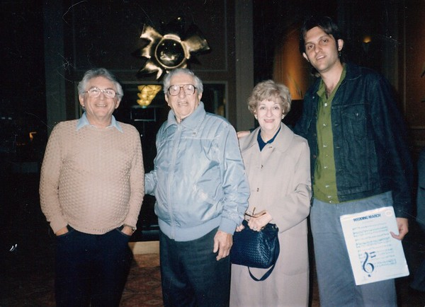 Len, dave, Pearl II and Jez