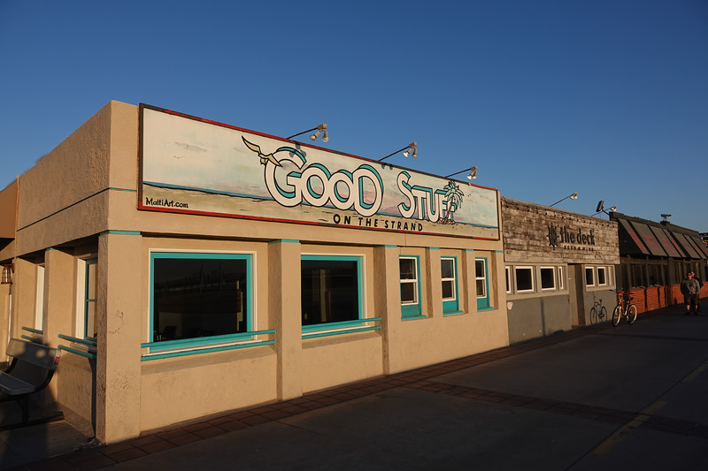 Good Stuff is one of the most popular restaurants in Hermosa Beach for eating by the water