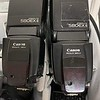 2 Canon 580EXII flashes