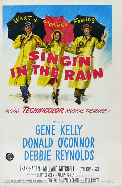 """Singin' in the Rain"" movie poster. Courtesy of the Pacific Symphony."