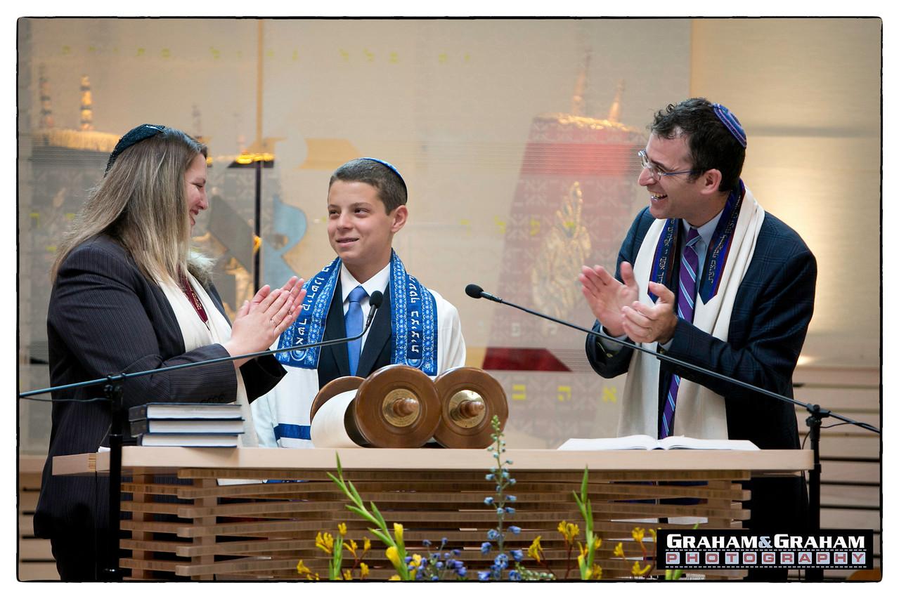 Magic Bar Mitzvah Moment