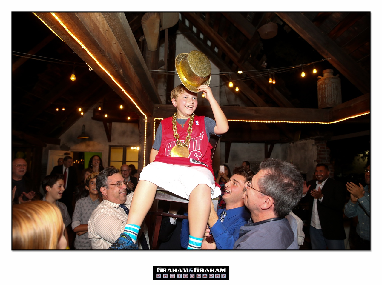 Los Angeles Bar Mitzvah Hora