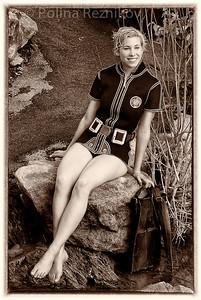 Vintage ladies shorty by Imperial