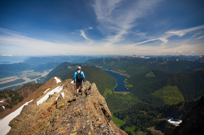 Hiking cheam and Lady Peak -  Christopher Kimmel / alpine Edge Photography -  No Use Without Permission