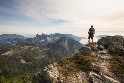 Brunswick Mountain, Vancouver, British Columbia.