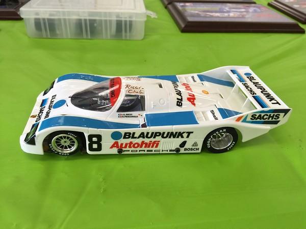 GTP class: Victor Dubrowsky's Blaupunkt Porsche 962