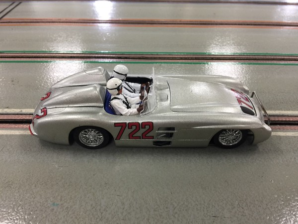 Foreign Production Sports class: Jay Henry's 1955 Mercedes 300 SLR (W 196 S)