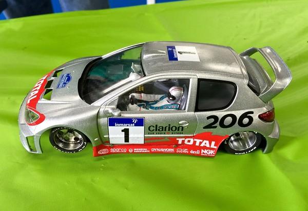 WRC class: Paul Sterrett Peugeot 206, WRC Enduro
