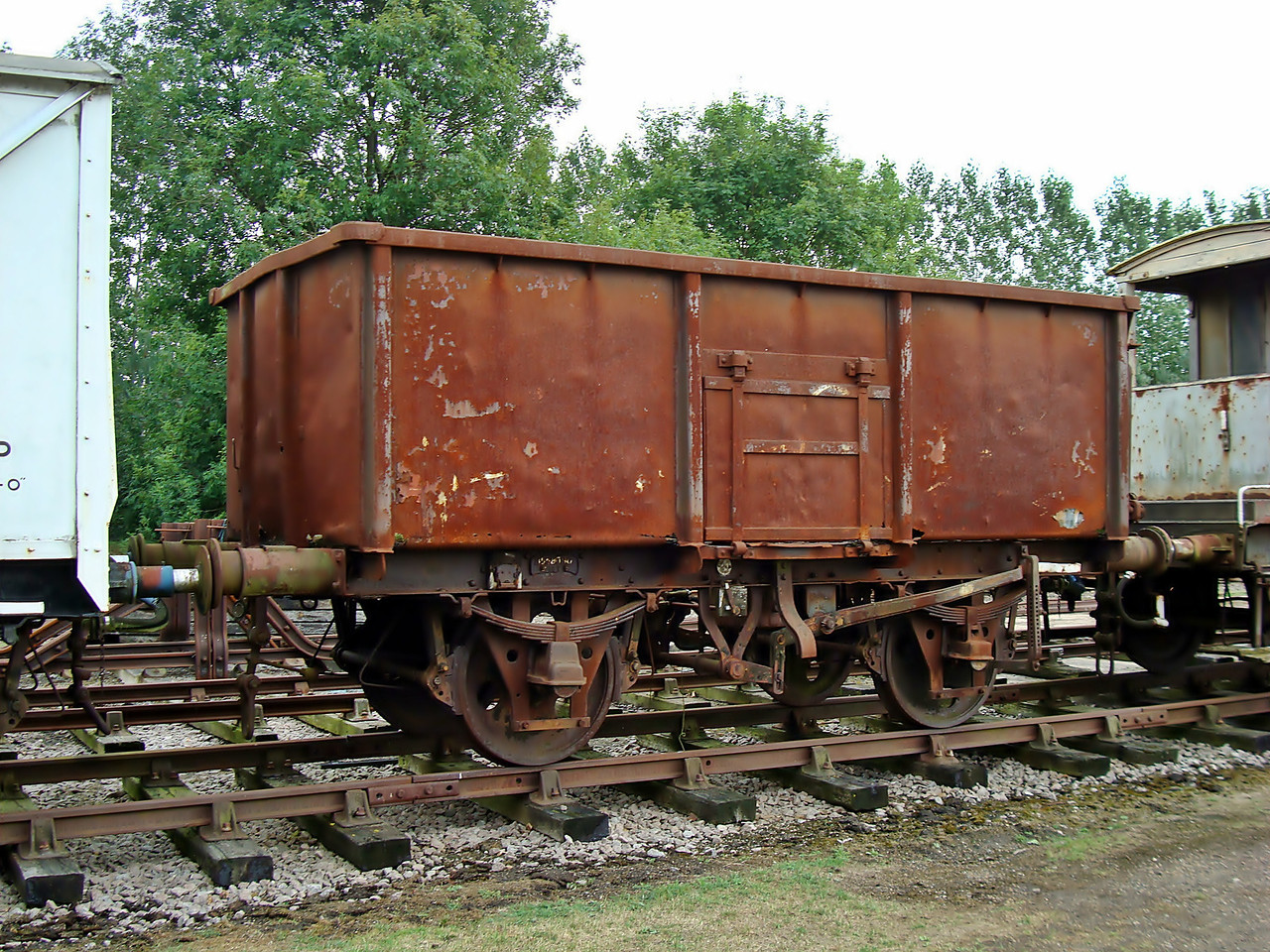 BR 558090 Mineral Wagon. (Now at North Norfolk Railway)  31,07,2010