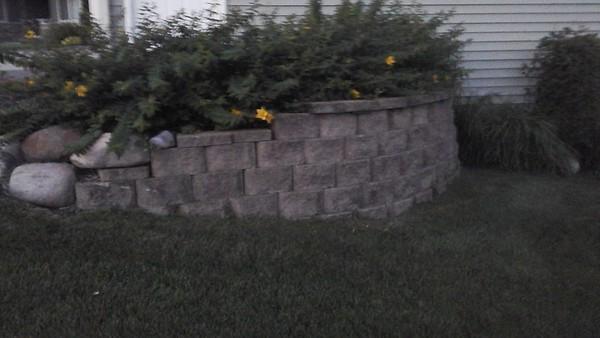 Elzinga Retaining Wall suggestion