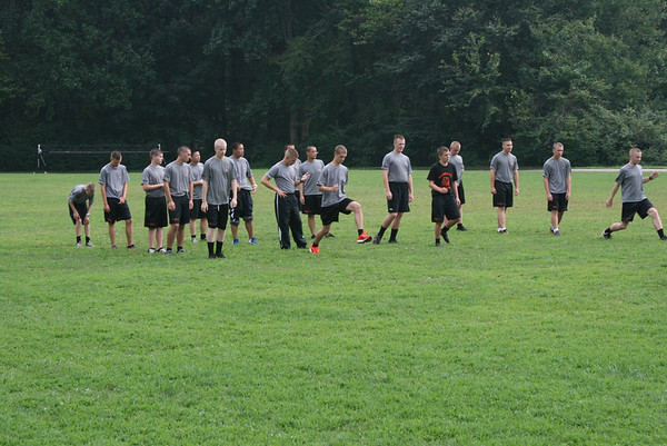 2013 Cross Country Practice
