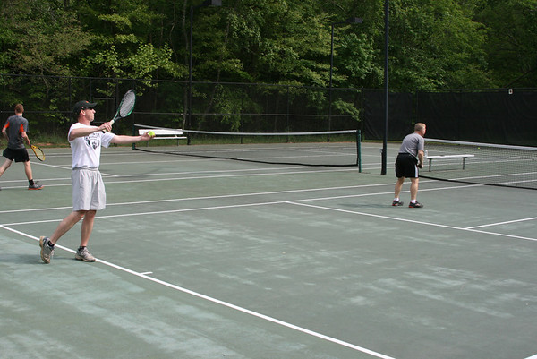JV Tennis vs. Faculty and Staff