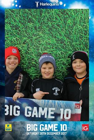 Harlequins Big Game 10, 30.12.17
