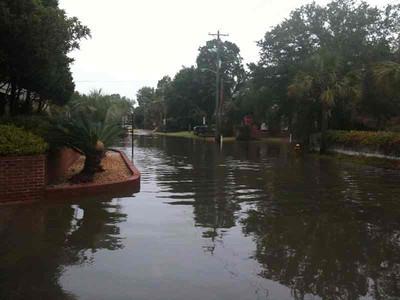 Harleston Place Flooding