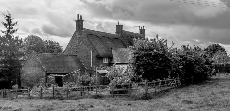 Cottages, Upper Harlestone, Northamptonshire_