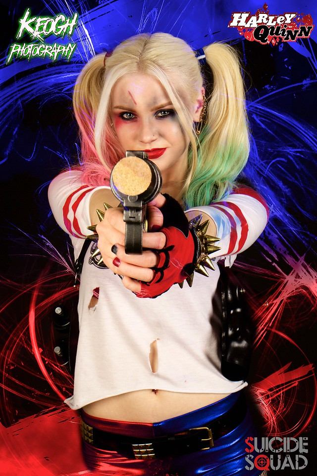 Harley Quinn Suicide Squad Cosplay Shoot