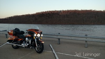 I had to stop along the rock river.