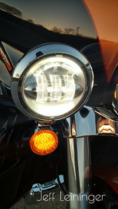 New LED turn signals.