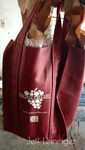 A bag O'wine.