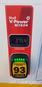 Gas prices in Orgegon.