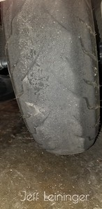 Time for a new tire.