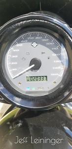 Oil change mileage on the v-rod.